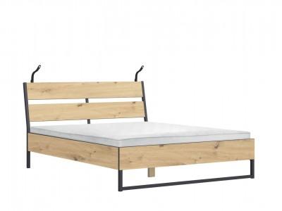 Brooklyn Кровать LOZ160B м/о с подсветкой