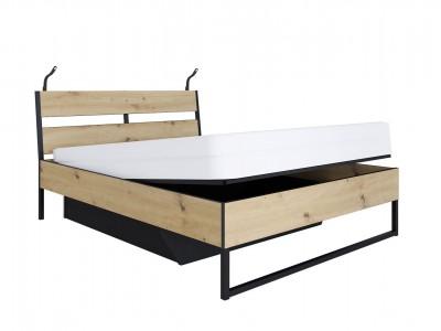 Brooklyn Кровать LOZ160B с подъемником и подсветкой