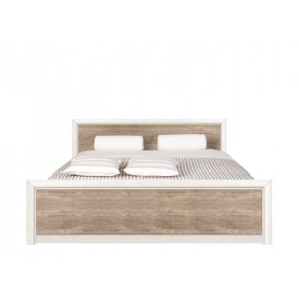 Коен кровать LOZ 180x200 металлическая основа ясень