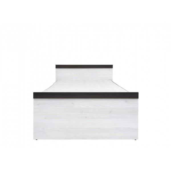 Порто Кровать с металлическим осн. LOZ90X200