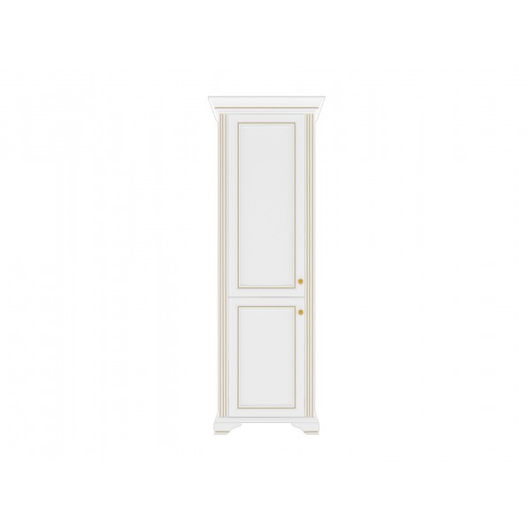 ВАЙТ (золотой) Шкаф 2D
